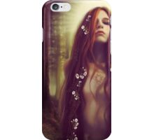 Iseult in the Sacred Forest iPhone Case/Skin