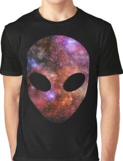 Space Alien Graphic T-Shirt