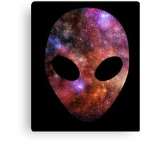 Space Alien Canvas Print