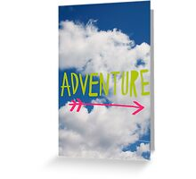 Adventure Sky Greeting Card