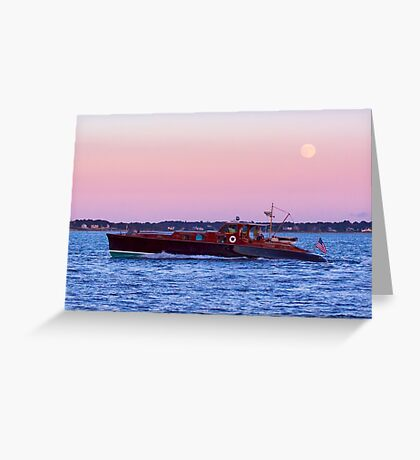 Aphrodite Under The Moon Greeting Card