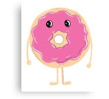 Sad Donut (Doughnut) Canvas Print