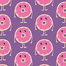 Sad Donut (Doughnut) by jazzydevil
