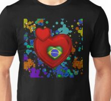 Love to Brazil Unisex T-Shirt