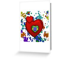 Love to Brazil Greeting Card