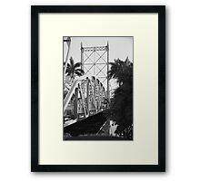 Historic Bridge Framed Print
