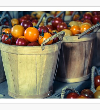 Baskets of Tomatoes Sticker
