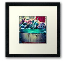 Basket of Peppers  Framed Print