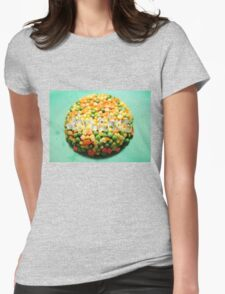 Eat It Womens Fitted T-Shirt