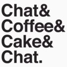 chat & Coffee & Cake & Chat by jazzydevil