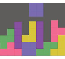 Decent Game of Tetris Photographic Print