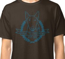 Paws To Pavement Dog Walking San Diego Blue Classic T-Shirt
