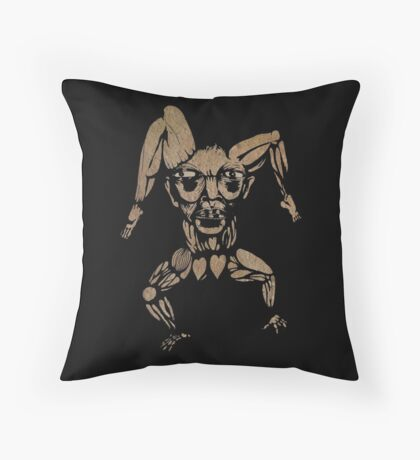 transmissionary position Throw Pillow