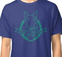 Paws To Pavement Dog Walking San Diego Green Classic T-Shirt
