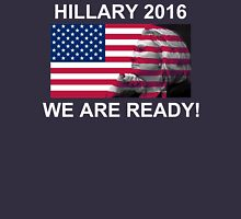 Hillary Clinton for President 2016 We Are Ready! Womens Fitted T-Shirt