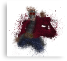 STAR-LORD Splatter Canvas Print