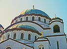 The Domes of St Sava by Graeme  Hyde