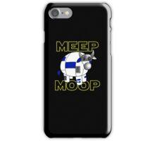 Meep Moop v2 iPhone Case/Skin
