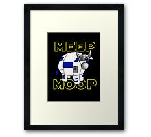 Meep Moop v2 Framed Print