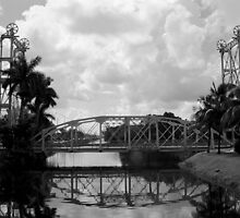 Lift Bridge over the Miami Canal by njordphoto