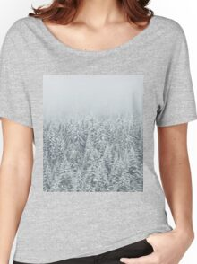 Snow Forest Women's Relaxed Fit T-Shirt