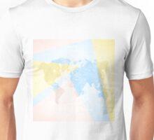 World Map Light Unisex T-Shirt