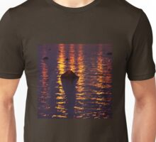 Sea after sunset Unisex T-Shirt