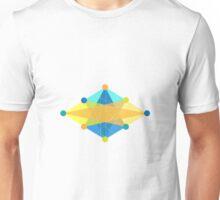 Crisscross Rhombus Unisex T-Shirt