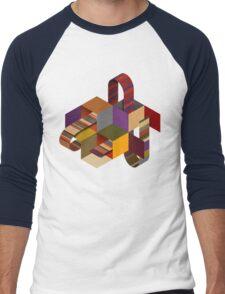 Tom Bakers Scarf - Doctor Who Men's Baseball ¾ T-Shirt