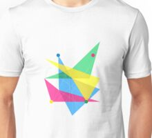 Abstract Slanted Rectangle Unisex T-Shirt