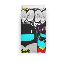 batman n bombin Duvet Cover