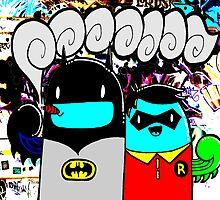 batman n bombin by DRED