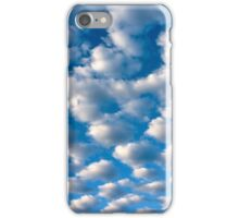 clouds perspective iPhone Case/Skin