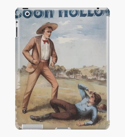 Performing Arts Posters Coon Hollow Chas E Callahans big scenic play 0699 iPad Case/Skin
