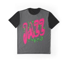Jazz in Red Graphic T-Shirt