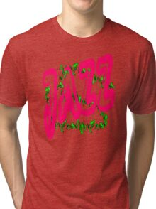 Jazz in Red Tri-blend T-Shirt