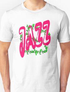 Jazz in Red Unisex T-Shirt