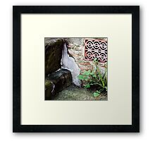 { Corners: where the walls meet #17 } Framed Print