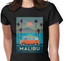 Malibu Womens Fitted T-Shirt