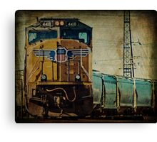 A Train to Chicago Canvas Print