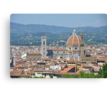 View of Florence , Florence, Italy Canvas Print