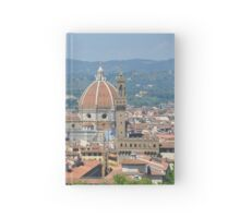View of Florence , Florence, Italy Hardcover Journal