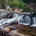 Lower Eagle Falls, West Shore, Lake Tahoe by David Galson