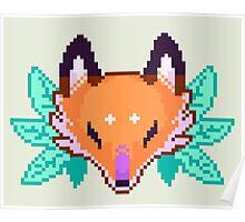 Pixel Fox Poster