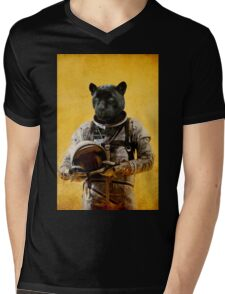 Space Jag Mens V-Neck T-Shirt