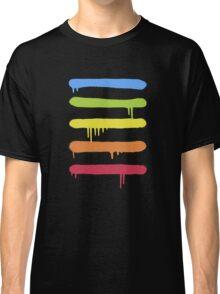 Trendy Cool Graffiti Tag Lines Classic T-Shirt