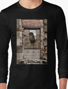 Port Arthur building in Tasmania, Australia. Long Sleeve T-Shirt