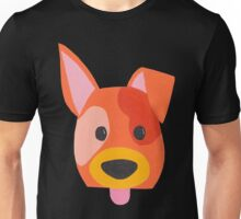 Cheeky dog sticking out its tongue! Unisex T-Shirt