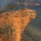 Hanging Rock .. the long view by Michael Matthews