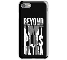 Beyond Limit iPhone Case/Skin